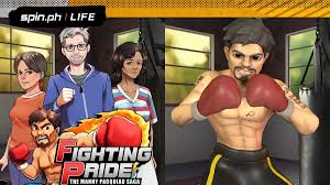 Manny Pacquiao gets their own mobile game with a real-life story..jpg