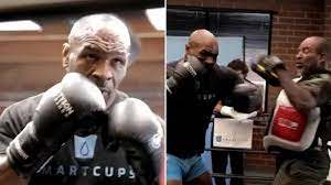 Tysons knocks sparring partner tooth out ahead of Jones exhibition match.jpg