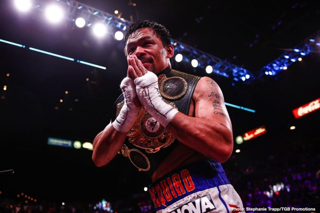 Manny Pacquiao's road to eight-division world titles! (Part 1)