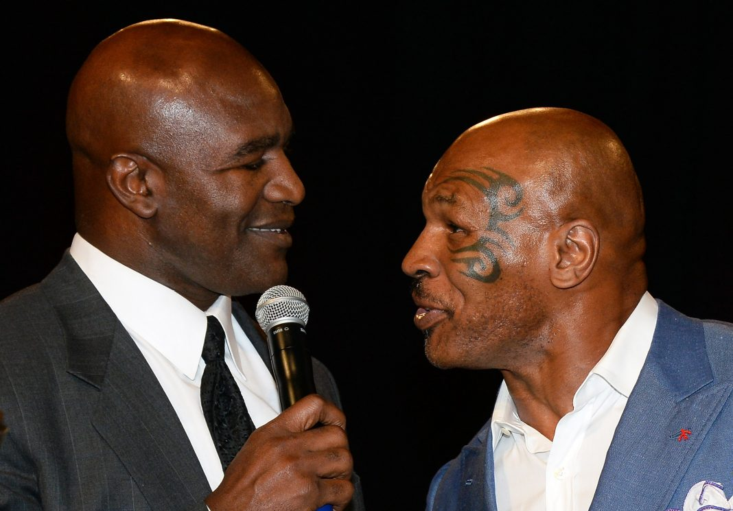 Mike Tyson reveals the next fight to happen in May