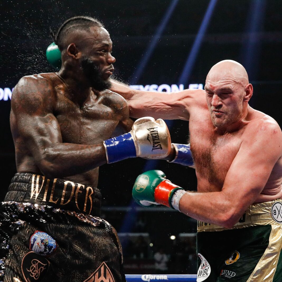 Deontay Wilder vows to end the career of unbeaten Tyson Fury on trilogy