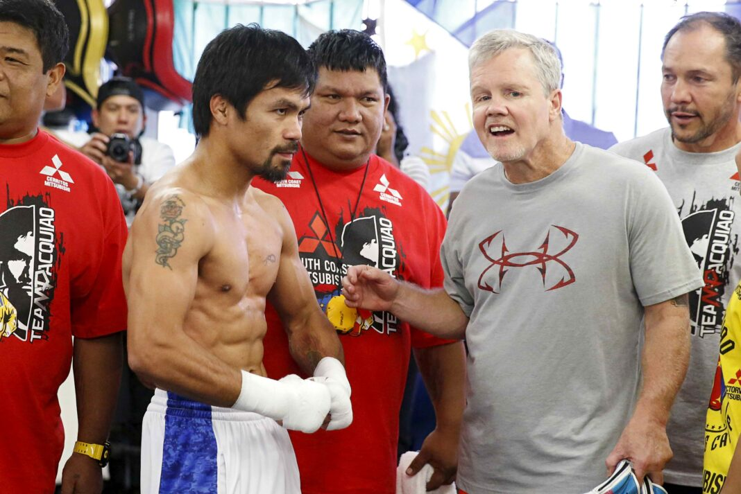 Freddie Roach offers $1,000 to Pacquiao sparring partners to knock him down