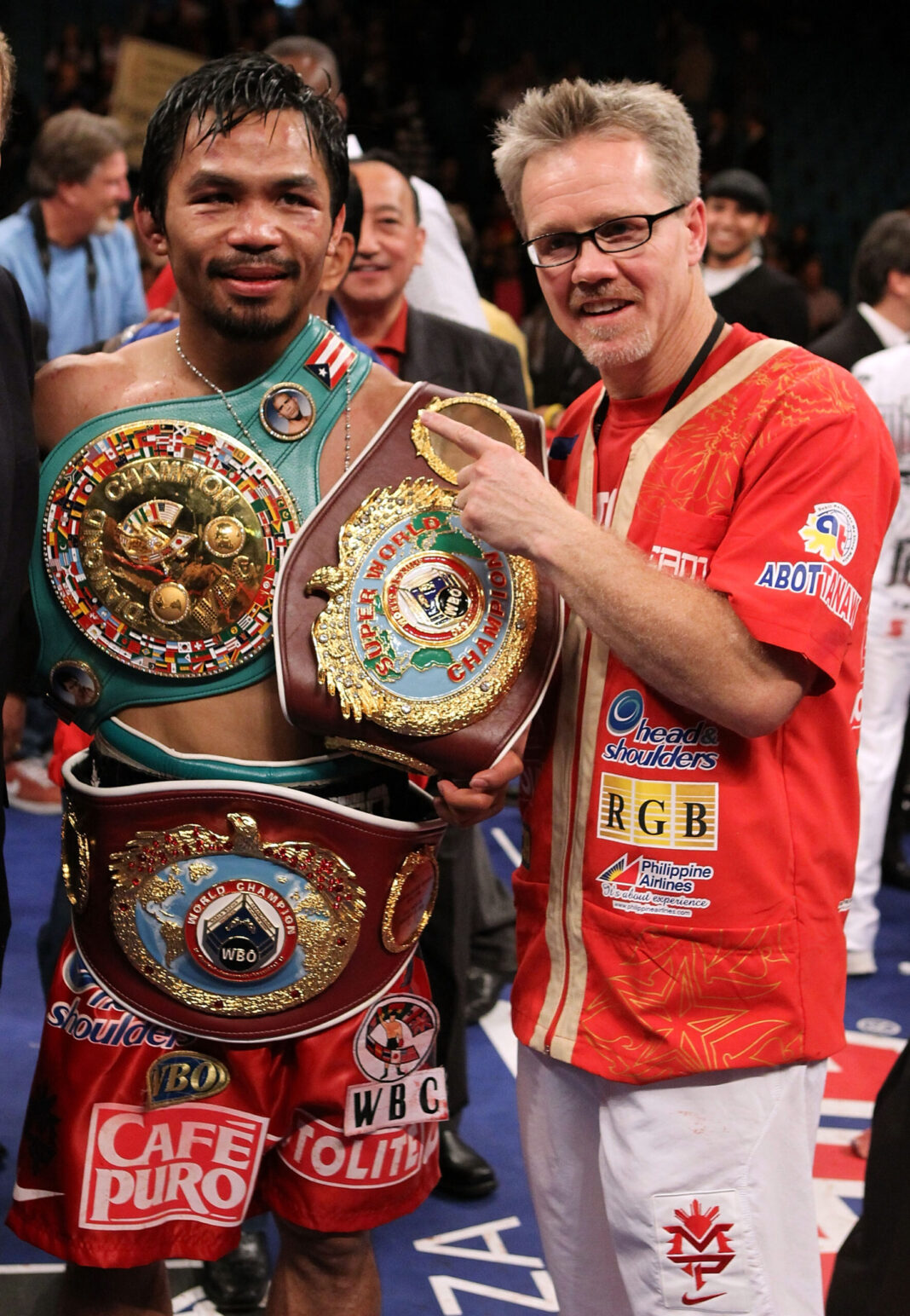 Pacquiao continues to awe Roach as they reunite in US
