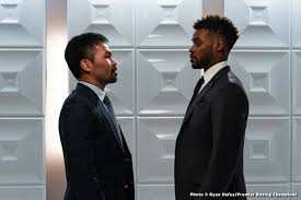 Paccquiao-Spence meet at pre-fight press con to officially announce fight